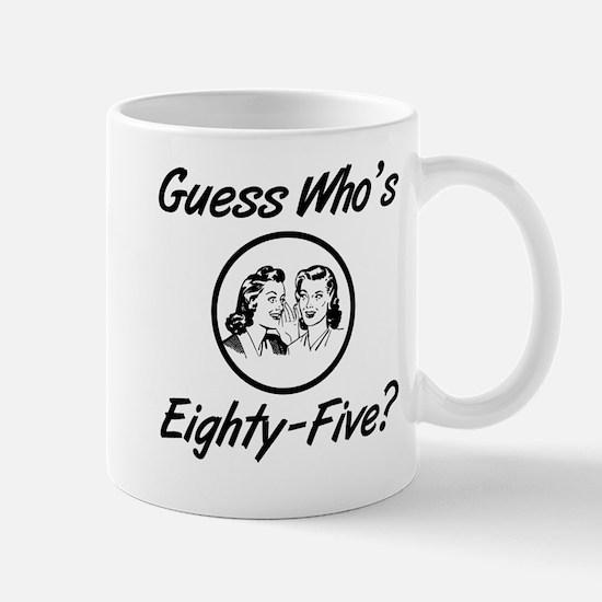 Retro 85th Birthday Mug