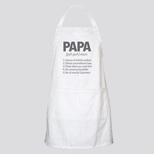 Papa Noun Definition Apron