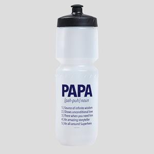 Papa Noun Definition Sports Bottle