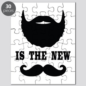 Beard Is New Mustache Puzzle