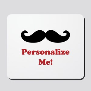 Customizable Mustache Mousepad