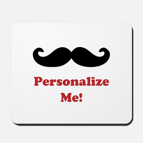 Customizable Mustache Mousepad