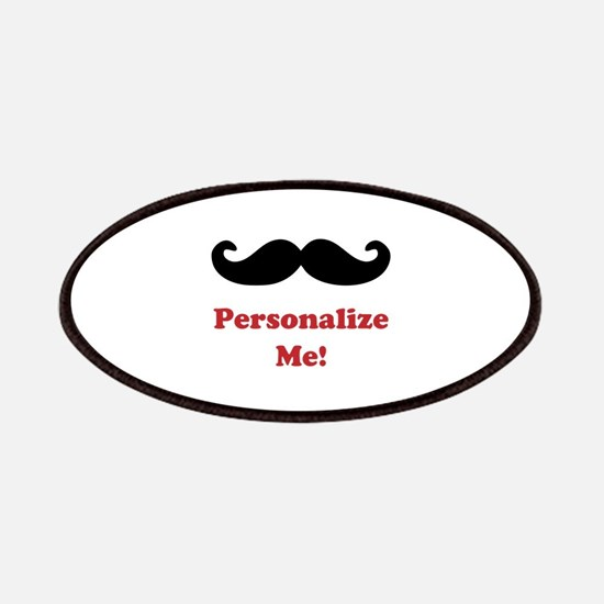 Customizable Mustache Patch