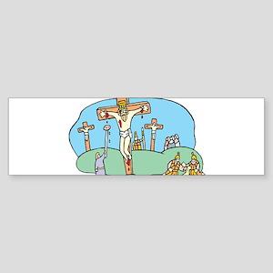 crucifixion Bumper Sticker