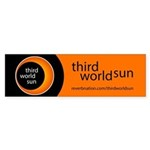 Third World Sun (bumper 10 Pk) Bumper Sticker