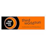 Third World Sun (bumper 10 Pk) Bumper Sticker