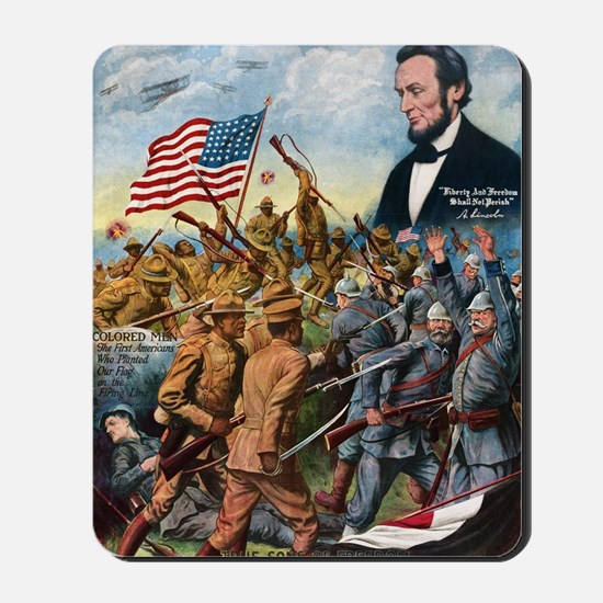 True sons of freedom Vintage Poster Mousepad