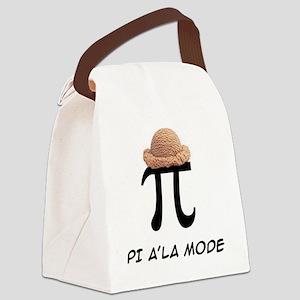PI A'LA MODE Canvas Lunch Bag