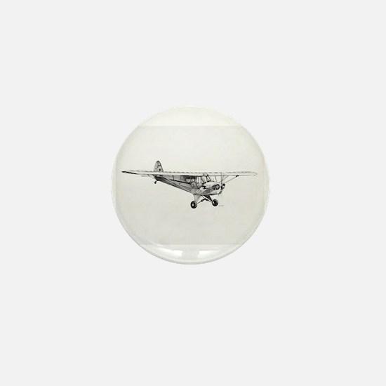 Piper Cub Mini Button