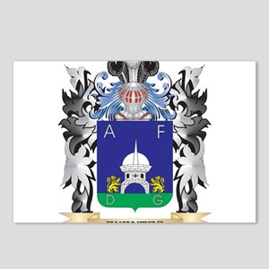 Fuentes Coat of Arms - Fa Postcards (Package of 8)