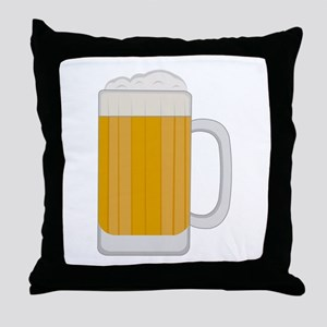 Beer Mug Throw Pillow