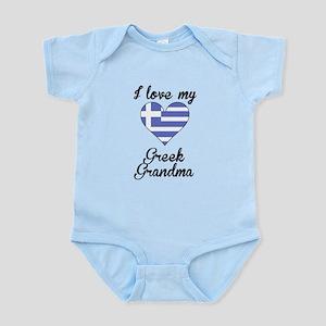 I Love My Greek Grandma Body Suit