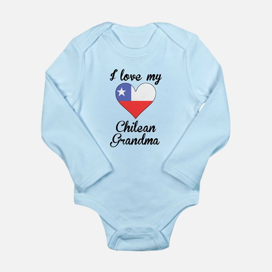 I Love My Chilean Grandma Body Suit