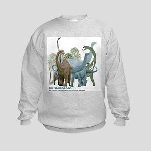 The Sauropods Kids Sweatshirt