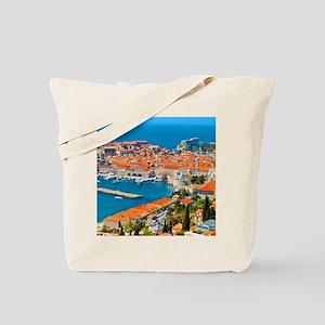 Croatia Harbor  Tote Bag