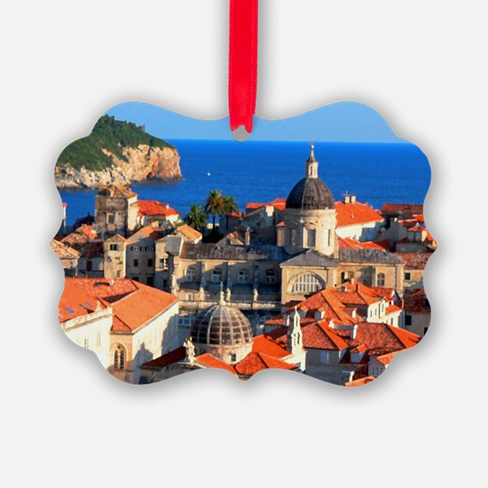 Croatia Downtown Ornament