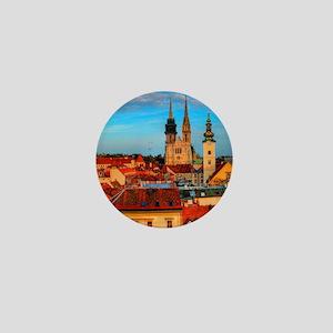 Croatia Cathedral Mini Button