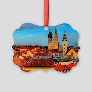 Croatia Cathedral Picture Ornament