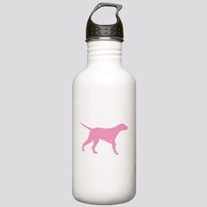 Pink Pointer Dog Stainless Water Bottle 1.0L