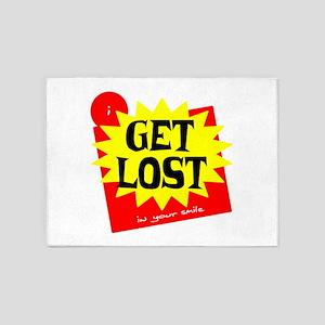 Get Lost 5'x7'Area Rug