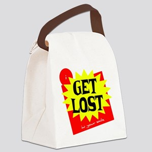 Get Lost Canvas Lunch Bag