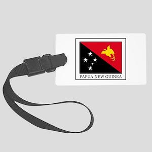 Papua New Guinea Large Luggage Tag