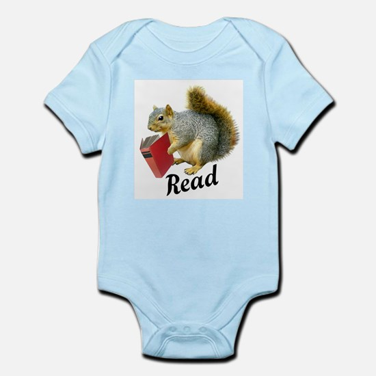 Squirrel Book Read Body Suit