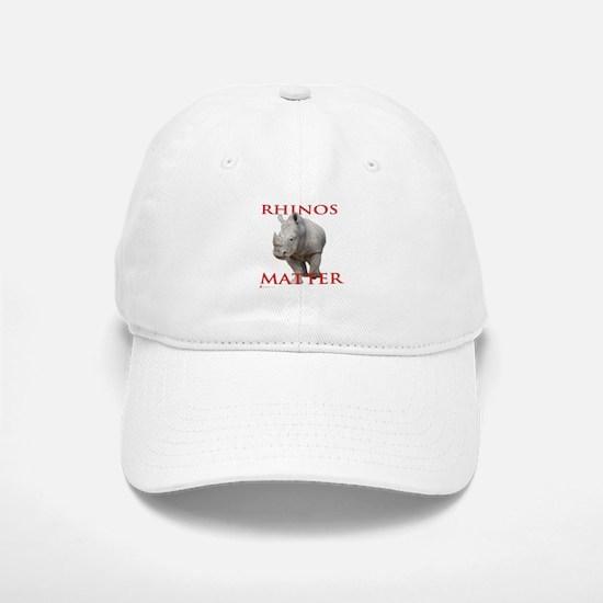 Rhinos Matter Baseball Baseball Baseball Cap