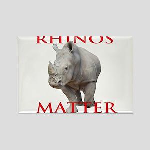 Rhinos Matter Magnets