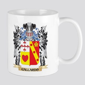 Gallardo Coat of Arms - Family Crest Mugs
