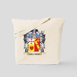 Gallardo Coat of Arms - Family Crest Tote Bag