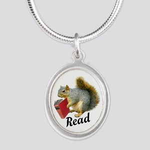 Squirrel Book Read Necklaces