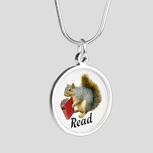 Squirrel Book Read Necklaces