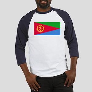 Flag of Eritrea Baseball Jersey