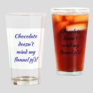 CHOCOLATE... Drinking Glass