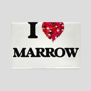 I Love Marrow Magnets