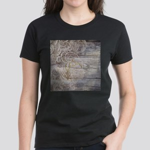 barn wood lace western country T-Shirt