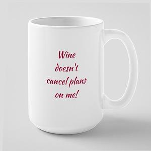 WINE... Large Mug