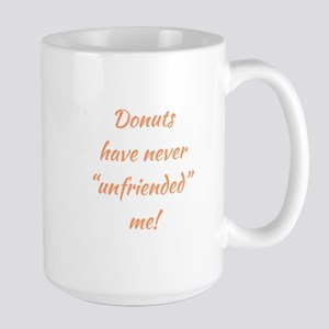 DONUTS... Large Mug