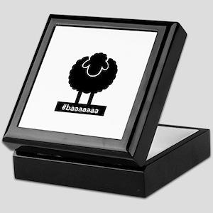 #baaaaaa Black Sheep Keepsake Box