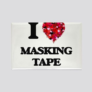 I Love Masking Tape Magnets