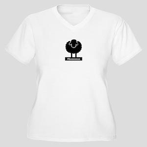 #baaaaaa Black Sheep Plus Size T-Shirt