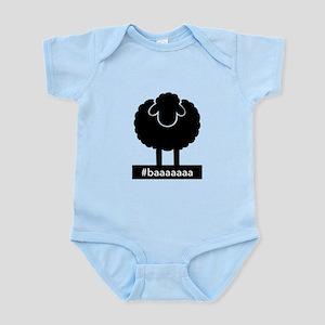 #baaaaaa Black Sheep Body Suit
