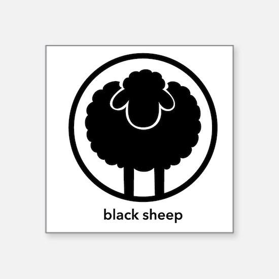 Black Sheep Sticker