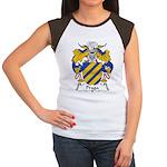 Praga Family Crest  Women's Cap Sleeve T-Shirt