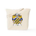 Praga Family Crest  Tote Bag
