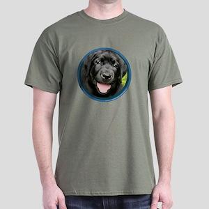 Black Lab Puppy Dark T-Shirt