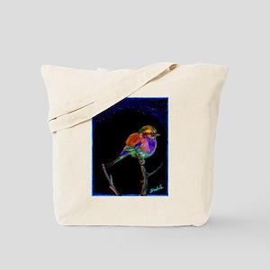 Lilac Bird Tote Bag