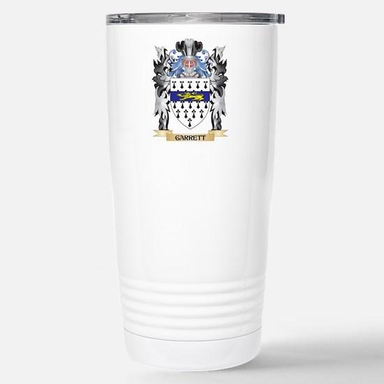 Garrett Coat of Arms - Stainless Steel Travel Mug