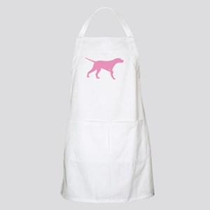 Pink Pointer Dog Apron